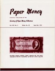 Paper Money (September/October 1975)