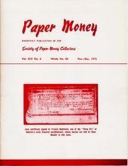 Paper Money (November/December 1975)