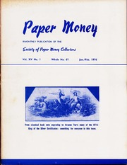 Paper Money (January/February 1976)