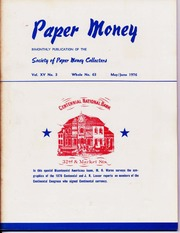 Paper Money (May/June 1976)
