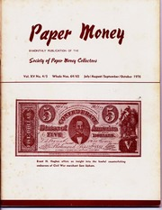 Paper Money (July/August/September/October 1976)
