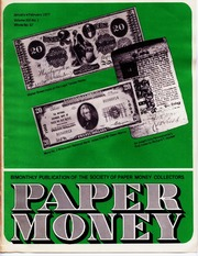 Paper Money (January/February 1977)