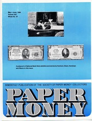 Paper Money (May/June 1980)