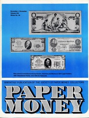 Paper Money (November/December 1980)