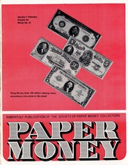 Paper Money (January/February 1981)