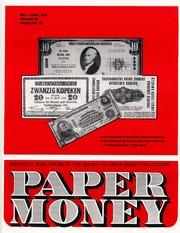 Paper Money (May/June 1981)