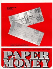 Paper Money (July/August 1981)