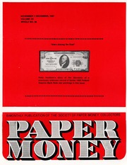 Paper Money (November/December 1981)