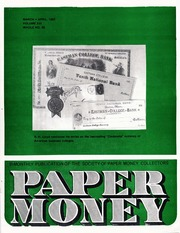 Paper Money (March/April 1982)