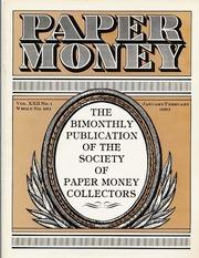 Paper Money (January/February 1983)