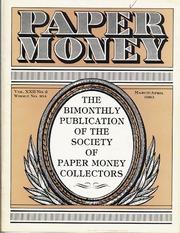 Paper Money (March/April 1983)