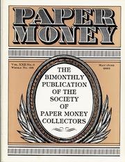 Paper Money (May/June 1983)