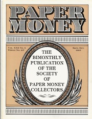 Paper Money (September/October 1983)