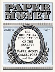 Paper Money (January/February 1984)