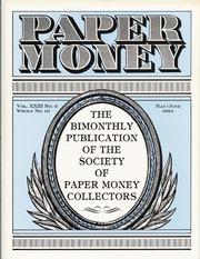 Paper Money (May/June 1984)