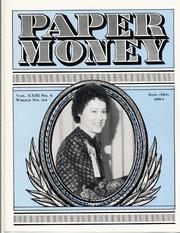 Paper Money (November/December 1984)