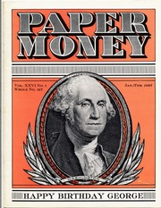 Paper Money (January/February 1987)