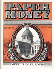 Paper Money (September/October 1987)