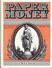 Paper Money (November/December 1987)
