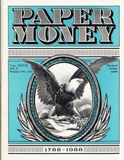 Paper Money (March/April 1988)