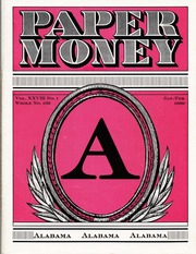 Paper Money (January/February 1989)