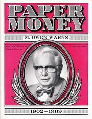 Paper Money (May/June 1989)