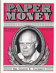 Paper Money (September/October 1989)