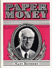 Paper Money (November/December 1989)