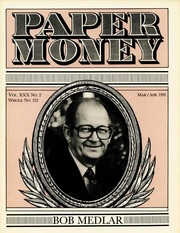 Paper Money (March/April 1991)