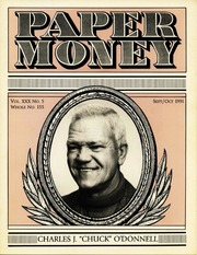 Paper Money (September/October 1991)