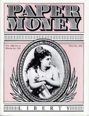 Paper Money (November/December 1991)