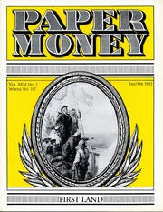Paper Money (January/February 1992)
