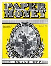 Paper Money (March/April 1992)