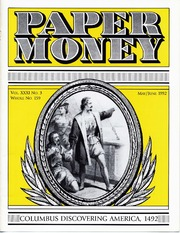Paper Money (May/June 1992)