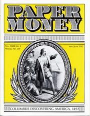 Paper Money (May/June 1992)