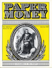 Paper Money (July/August 1992)