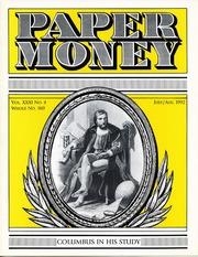Paper Money (July/August 1992)