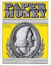 Paper Money (September/October 1992)