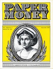 Paper Money (November/December 1992)