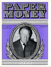 Paper Money (January/February 1993)