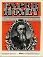 Paper Money (May/June 1994)