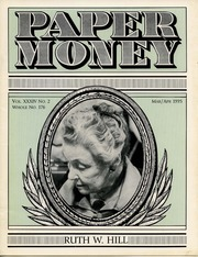 Paper Money (March/April 1995)