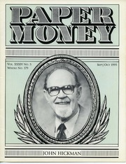 Paper Money (September/October 1995)