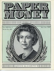 Paper Money (November/December 1995)