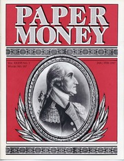 Paper Money (January/February 1997)