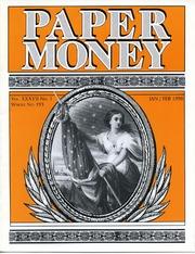 Paper Money (January/February 1998)