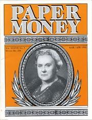 Paper Money (March/April 1998)