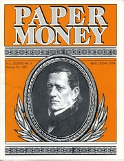 Paper Money (May/June 1998)