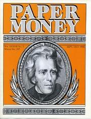 Paper Money (September/October 1998)