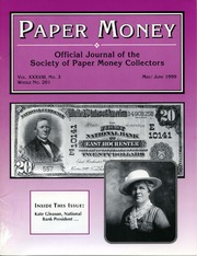 Paper Money (May/June 1999)